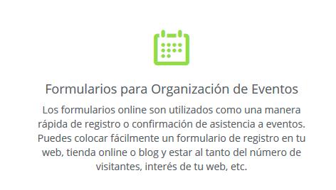 encuestas online organizacion de eventos