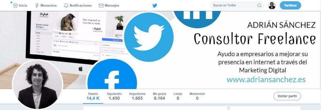 Portada Twitter Adrián Sánchez