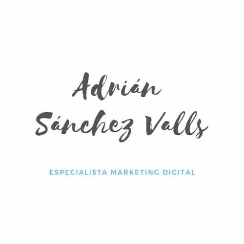 Blog Adrián Sánchez Valls